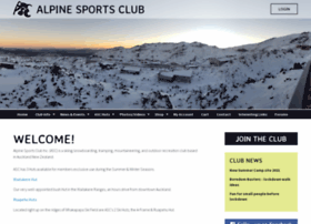 Alpinesports.org.nz thumbnail