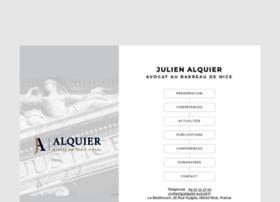 Alquier-avocat.fr thumbnail