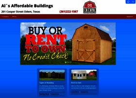 Alsaffordablebuildings.com thumbnail