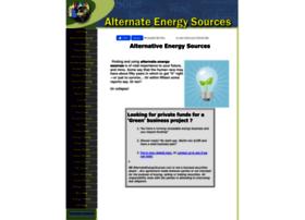 Alternate-energy-sources.com thumbnail