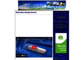 Alternativeenergysecret.com thumbnail