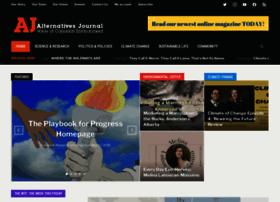 Alternativesjournal.ca thumbnail