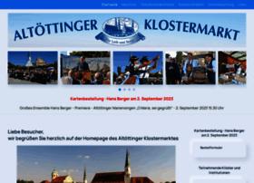 Altoettinger-klostermarkt.de thumbnail