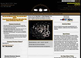 Aluminumspacers.com thumbnail