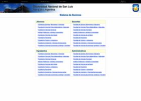 Alumnos.unsl.edu.ar thumbnail