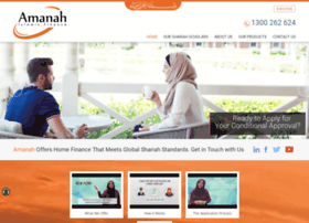 Amanah.com.au thumbnail