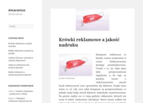 Amarantus.pl thumbnail