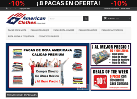 Americanclothes.com.mx thumbnail