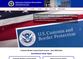 Americancustoms.org thumbnail