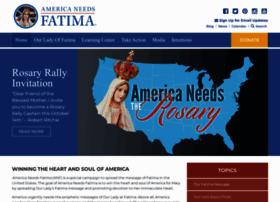 Americaneedsfatima.org thumbnail