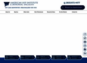 Americanhipinstitute.org thumbnail