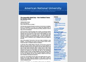 Americannationaluniversity.wordpress.com thumbnail