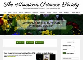 Americanprimrosesociety.org thumbnail