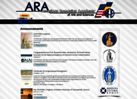 Americanromanianacademy.org thumbnail