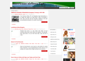 Americansairlines.blogspot.com thumbnail