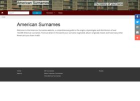 Americansurnames.us thumbnail