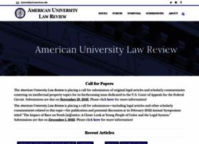 Americanuniversitylawreview.com thumbnail