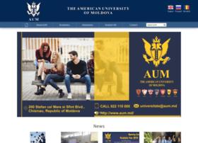 Americanuniversityofmoldova.com thumbnail