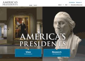 Americaspresidents.si.edu thumbnail