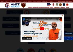 Ametuniv.ac.in thumbnail