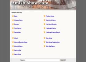 Amish-shaw.com thumbnail