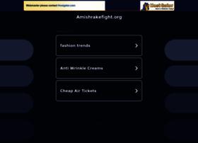 Amishrakefight.org thumbnail