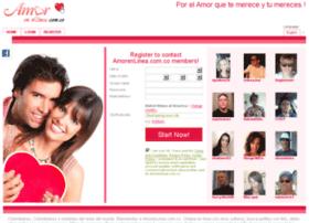 Amorenlinea.com.co thumbnail