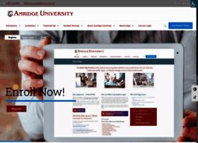 Amridgeuniversity.edu thumbnail