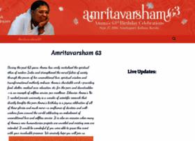 Amritavarsham.org thumbnail