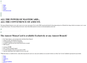 Amscotcard.net thumbnail