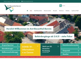Amt-biesenthal-barnim.de thumbnail