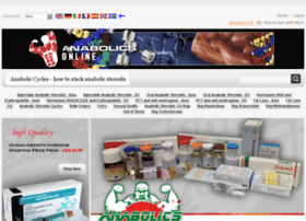 Buy Anabolics Steroids Online