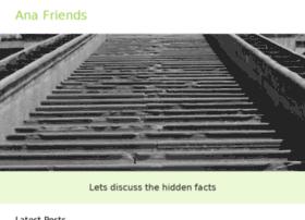 Anafriends.org thumbnail