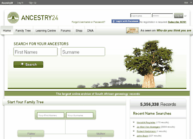 Ancestry24.co.za thumbnail