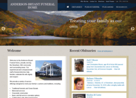 Andersonbryantfuneralhome.com thumbnail