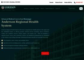 Andersonregional.org thumbnail