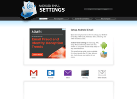 Androidemailsettings.com thumbnail