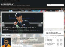Andy-murray.com thumbnail