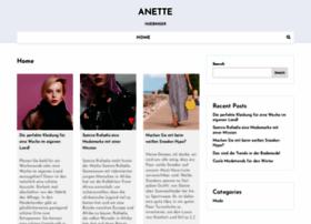 Anette-huebinger.de thumbnail