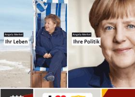 Angela-merkel.de thumbnail
