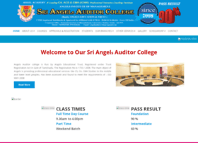Angelauditorcollege.in thumbnail
