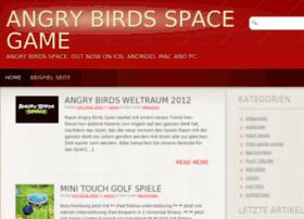 Angrybirdsspace.de thumbnail