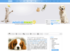 Animalmeet.ru thumbnail