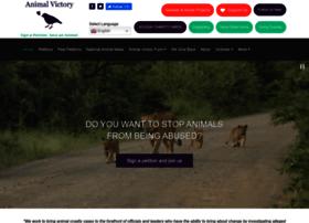 Animalvictory.org thumbnail
