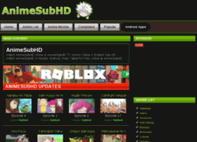 Animesubhd.net thumbnail