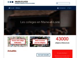 Anjou.e-lyco.fr thumbnail