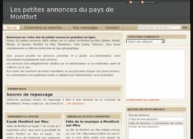 Annonce-paysdemontfort.fr thumbnail