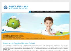Annsenglishmediumschool.com thumbnail