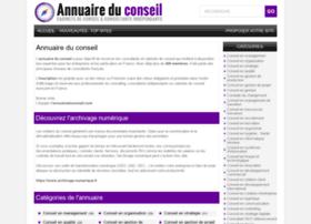 Annuaireduconseil.com thumbnail