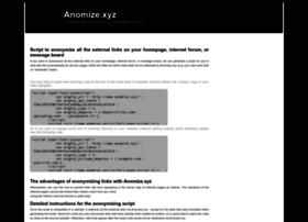 Anomize.xyz thumbnail